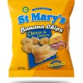 St. Marys Banana Chips (Cheese & Onion)