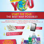 Colgate Happy New You (January 15 – March 1, 2014)